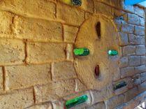 Cob wall