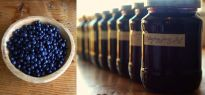 Our homemade bluberry jam