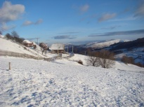Snowy hills - we have lots of sunny winter days